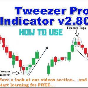 Naked Forex Tweezer Pro Indicator v2.80 (NO REPAINT)
